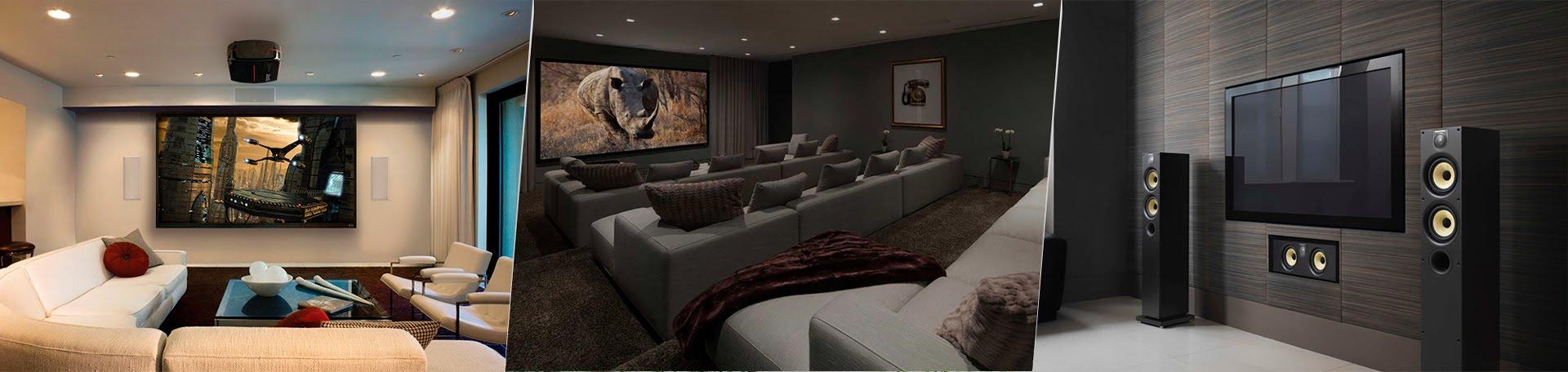 instalação de home theater